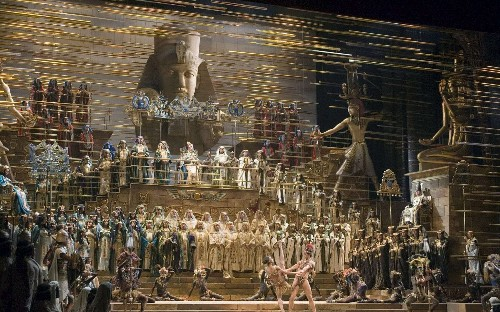 Verdi's Aida - a spectacular tale of Ancient Egypt which doesn't waste one note