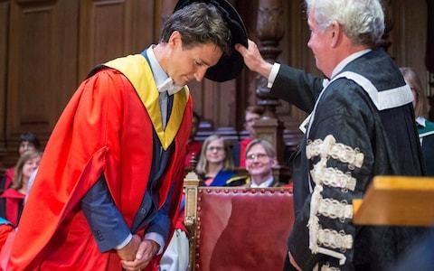 Justin Trudeau praises 'strong partner' Scotland at Edinburgh degree ceremony