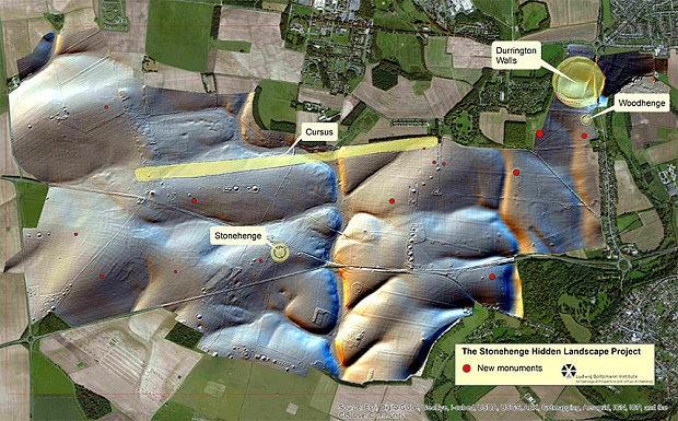 Huge ritual monument found hidden near Stonehenge