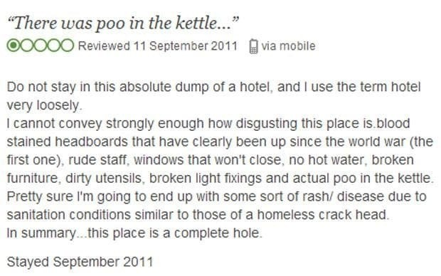 TripAdvisor: the funniest reviews, biggest controversies and best spoofs