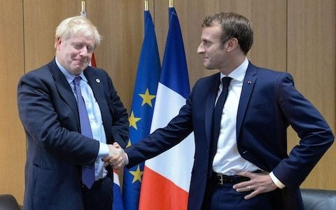 Macron is not going to bail out Boris. The PM will have to save Brexit from the Remainers himself