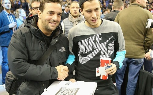 Arsenal and Chelsea stars watch Hawks v Nets in NBA at O2: in pictures - Telegraph