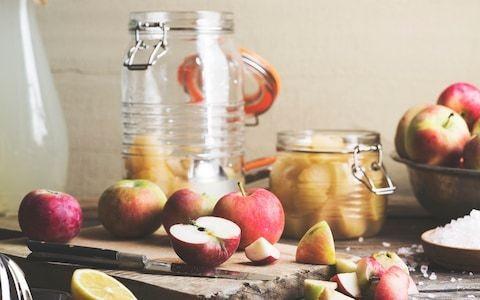 Pickled apples recipe