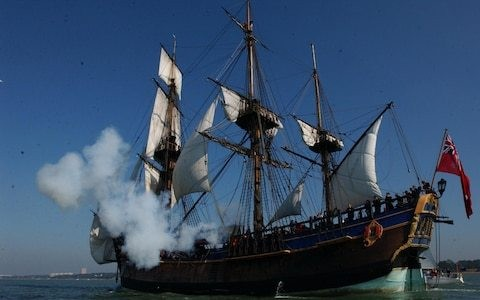 Maori tribe bans replica of 'barbarian' Captain Cook's ship from port on journey to make 250th anniversary
