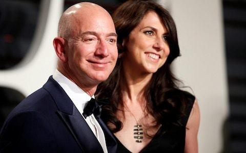 Did feud with Donald Trump force Jeff Bezos to announce divorce ahead of affair expose?