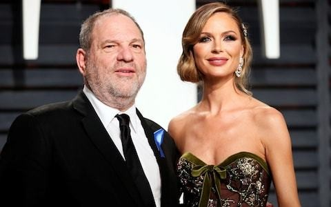 Harvey Weinstein's wife leaves him for 'unforgivable actions' as sex scandal deepens