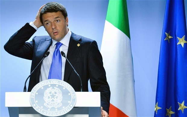 Britain must stay in European Union, says Matteo Renzi, as Italy takes over EU presidency