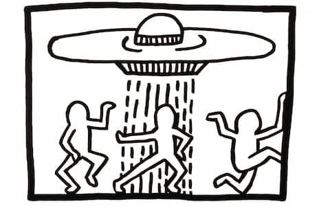 Keith Haring review, Tate Liverpool: a vivid journey through Eighties New York