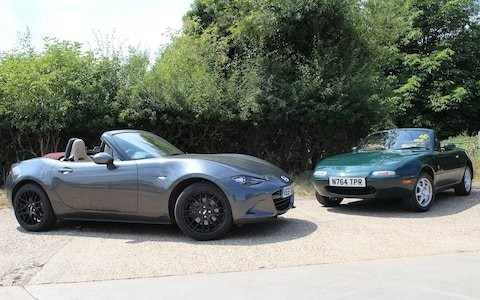 Mazda MX-5 driven review: original and latest examples of the world's bestselling roadster