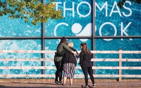Monday afternoon news briefing: Thomas Cook holidays turn into nightmares