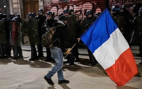 French draw sword against Macron to defend exorbitant pension perks