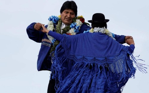 Fires threaten to bring down Evo Morales as Bolivia's Leftist leader ignores referendum in bid for fourth term