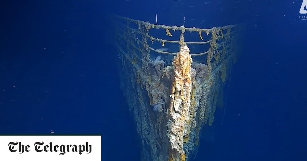 Titanic's 'voice' must be rescued from the wreck before it disappears forever, families say