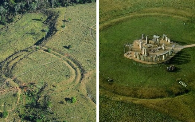 Hundreds of ancient earthworks resembling Stonehenge found in Amazon rainforest