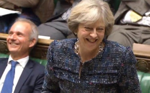 Theresa May: the true heir to Thatcher... right down to the accidental innuendos