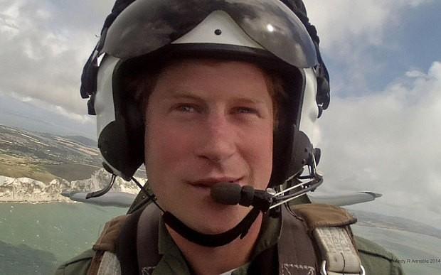Prince Harry displays Battle of Britain spirit for veterans