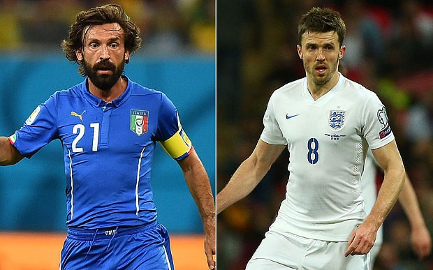 Michael Carrick should have been England's Andrea Pirlo - but it is not too late