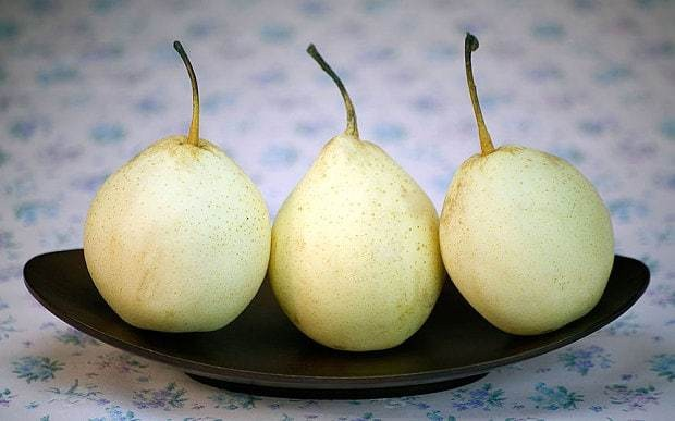 Pear juice before alcohol may combat hangover