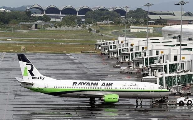 Rayani Air (Sharia-compliant airline) banned