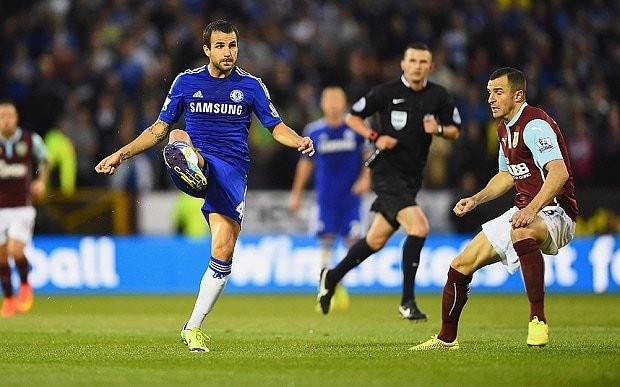 Cesc Fabregas's inspired pass to Andre Schurrle leaves Chelsea fans purring