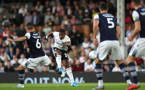 Ivan Cavaleiro lifts Fulham to third with thumping of Millwall