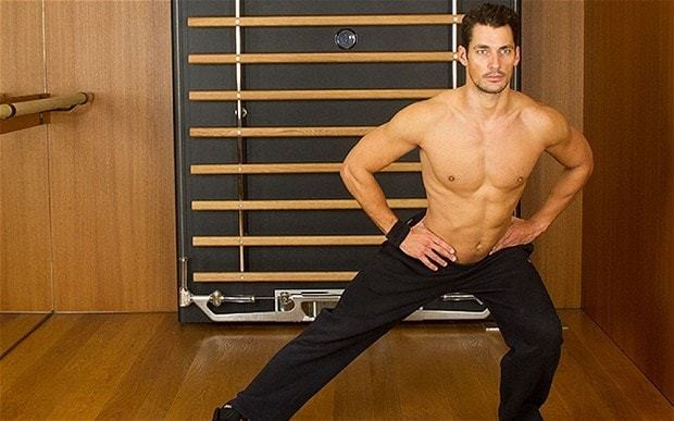 David Gandy: how I got my body