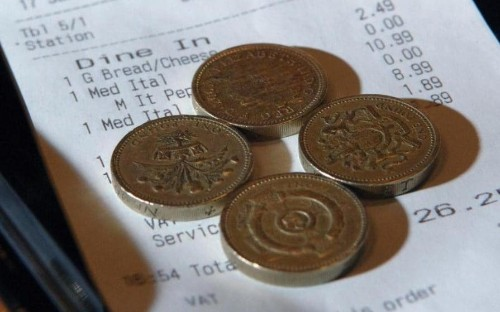 Tipping comes off the menu as restaurants to be banned from adding discretionary charge to bills