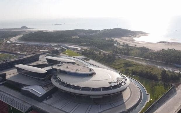 There's a building in China shaped like Star Trek's USS Enterprise