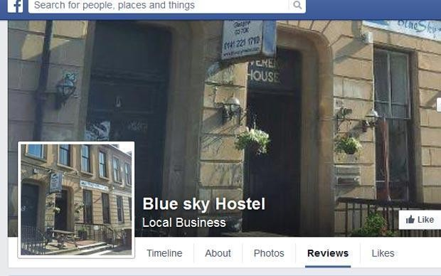 Glasgow hostel's owner extraordinary Facebook rant