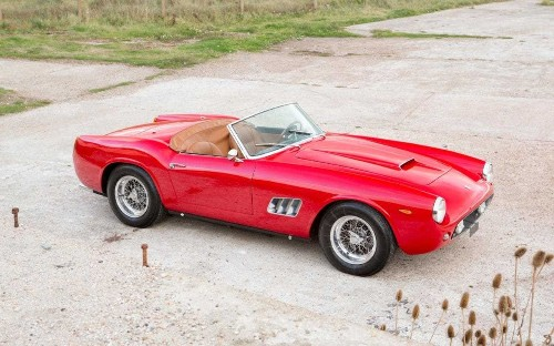 'Prettiest Ferrari ever made' set to sell for £10million