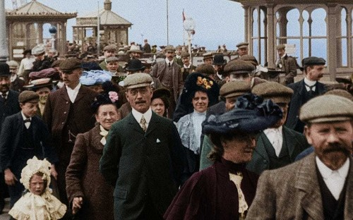 Pomp, pageantry and hard work: How life in Edwardian Britain has been restored in glorious colour