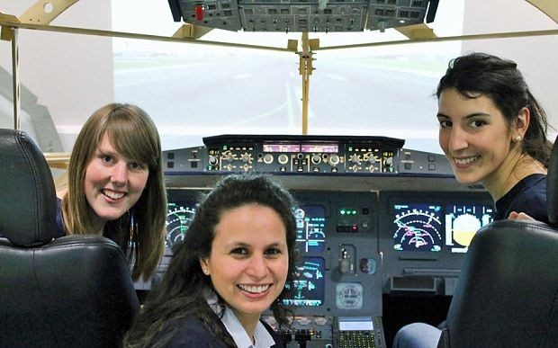 Meet the young women trying to revolutionise the way we fly