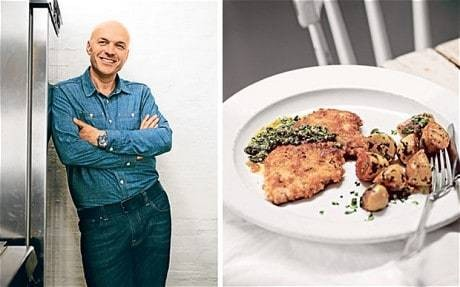 My favourite dish: Simon Rimmer's rose veal escalopes