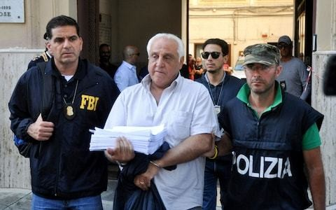 US and Italian police arrest 19 alleged mafiosi as organised crime clan tries to reclaim old turf in Sicily