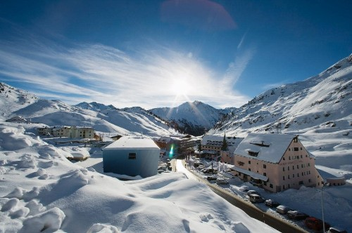 The perfect ski resort for someone who doesn't like skiing
