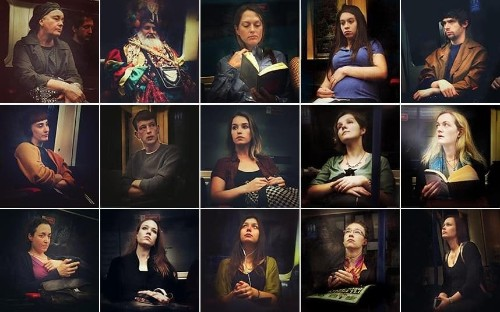 London photographer turns Tube commuters into 16th-century-style portraits