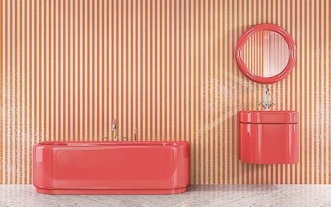 Coloured bathtubs and 5 other surprising retro trends coming back into style