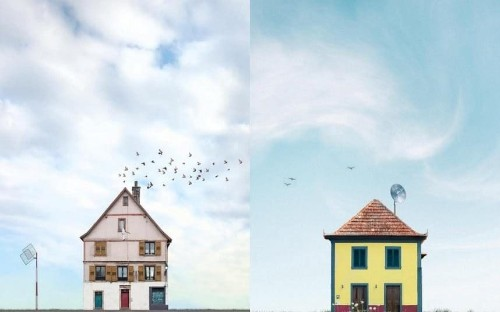 These vivid photos capturing 'lonely houses' are incredibly beautiful