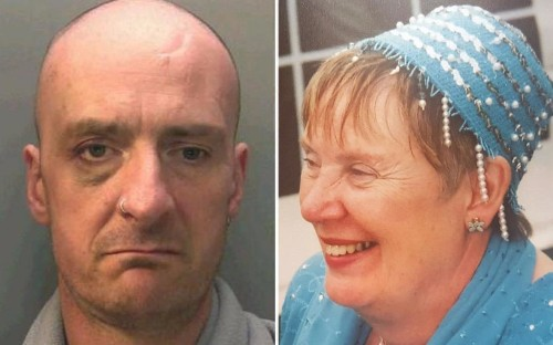 Life sentence for heroin addict who murdered own mother with chainsaw as she hung out washing