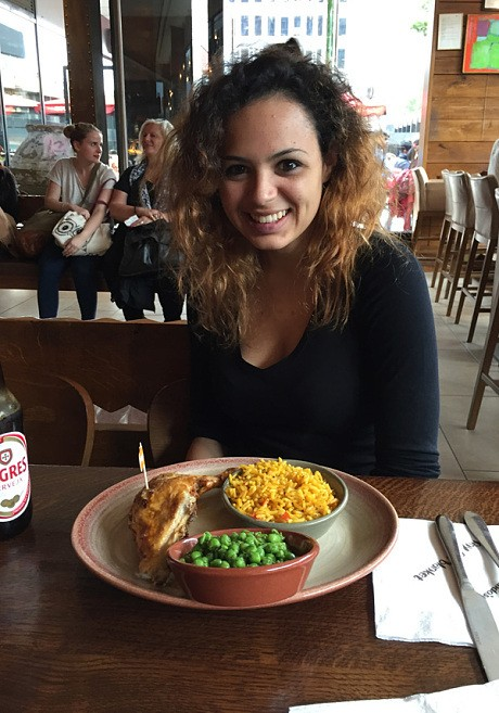 I took an American for a Cheeky Nando's. This is what happened