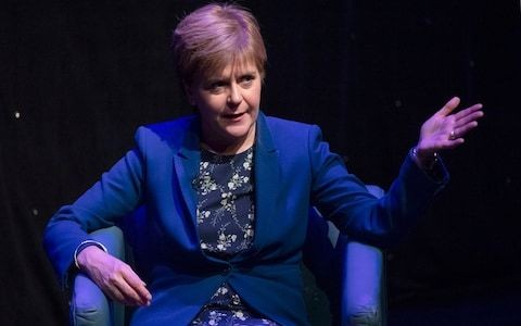 Nicola Sturgeon accused of going 'into hiding' to avoid her government's figures on Scotland's deficit