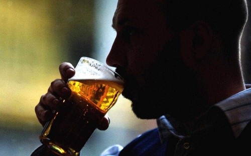 Half of middle-aged men drink too much - do you exceed the recommended amount?
