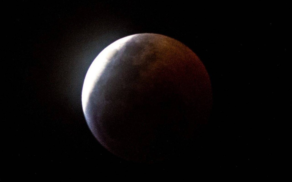Total lunar eclipse 2019: 'Super blood wolf moon appears over the UK'
