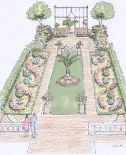 RHS Hampton Court Palace 2015: Show Garden sketches