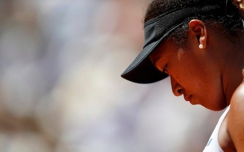 Naomi Osaka claims shock French Open loss to unseeded Katerina Siniakova 'best thing that could have happened'