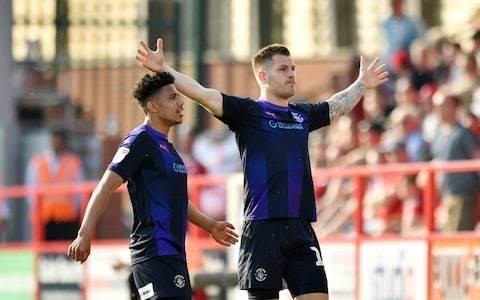 James Collins on powering Luton Town towards second successive promotion: 'Luckily I'm the striker that gets all the glory'