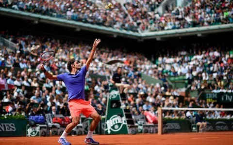 Roger Federer dominates conversation as clay-court swing gets under way with Novak Djokovic backing rival for French Open tilt