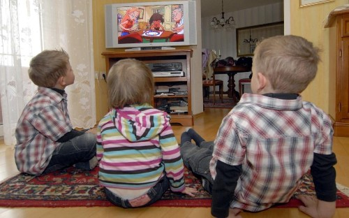 Pre-school children spend more than four hours a day looking at a screen