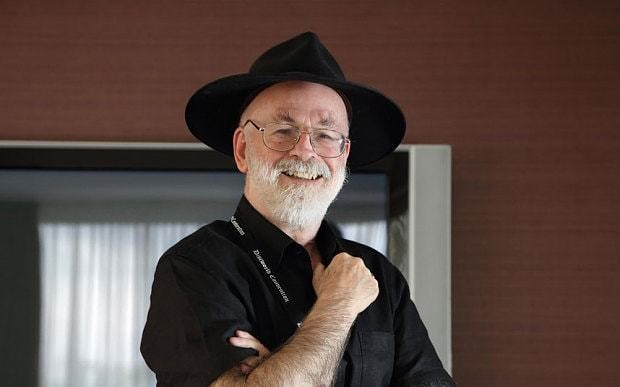 Terry Pratchett died where he belonged - at home