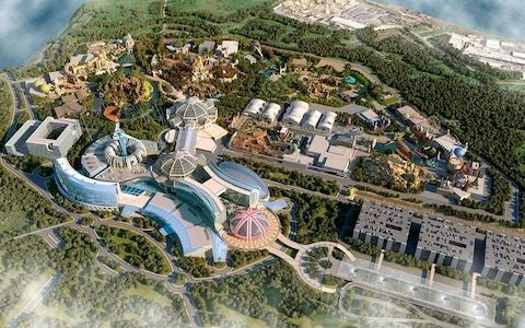 Planned £1 billion British theme park has a plan for the weather